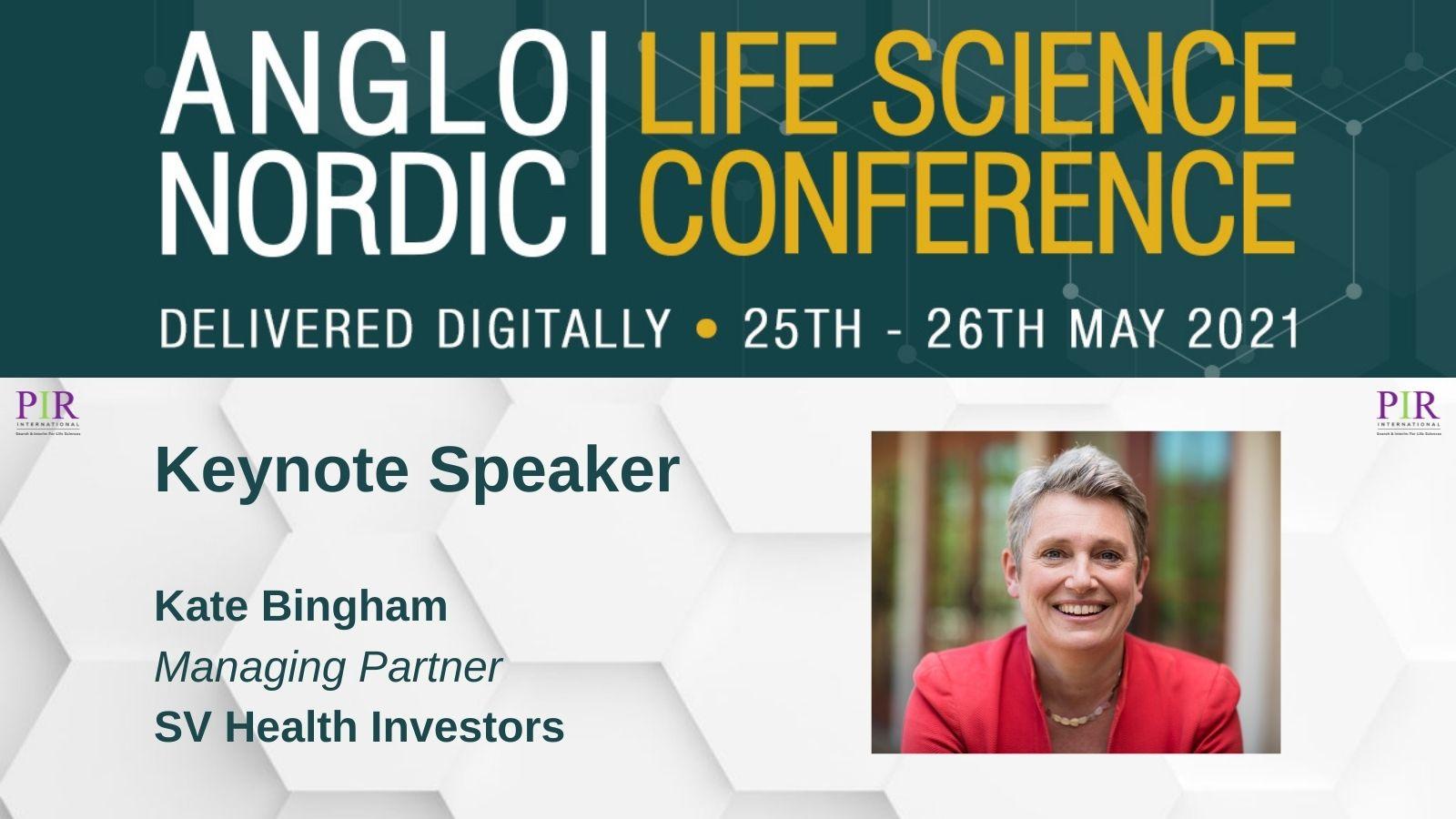 Kate Bingham Keynote Speaker